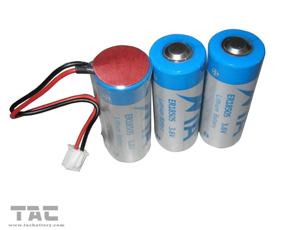 3.6V LiSOCL2 Rechargeable Li-On Battery For Ultrasonic Heat Meter