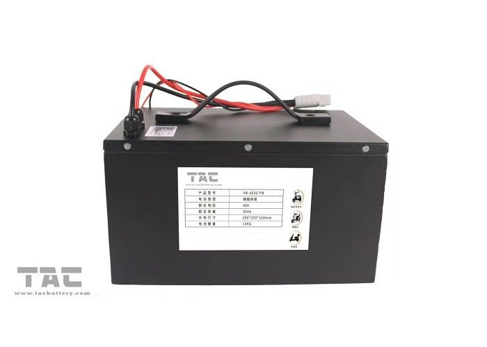 24V, 36V, 48V  Capacity Polymer Li-ion Electric Bike Battery Pack