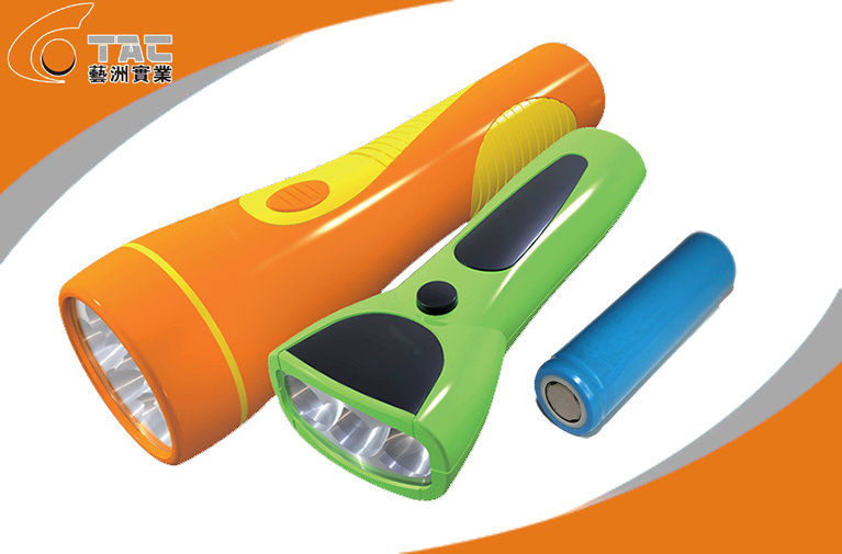 Deep Discharge Solar Led Flashlight AA Batteries for toys, digital products